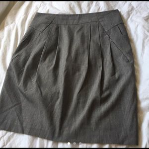 Worthington grey skirt